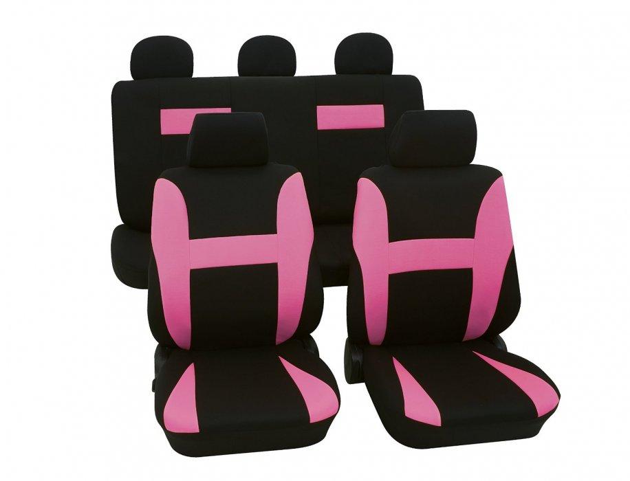 Autopotahy Neon - růžové