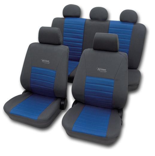 Autopotahy Active sports - modré