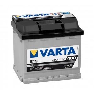 Autobaterie VARTA BLACK dynamic 45Ah 12V 400A 545412