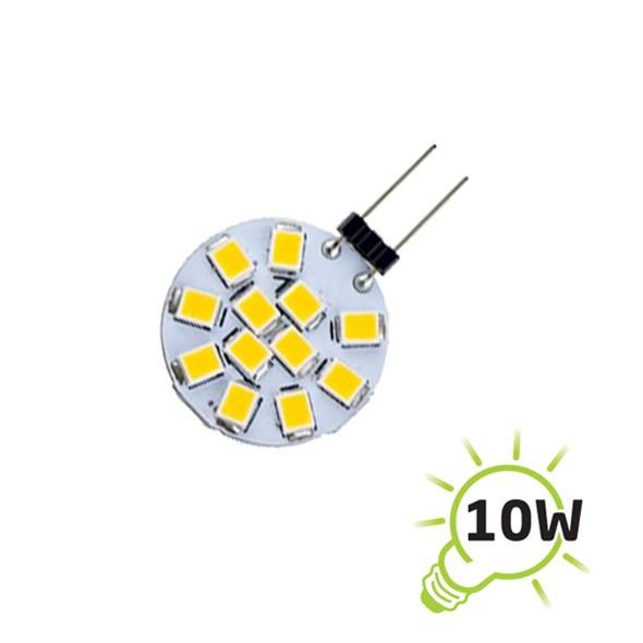 LED žárovka G4 12SMD, 1,2W bílá přírodní