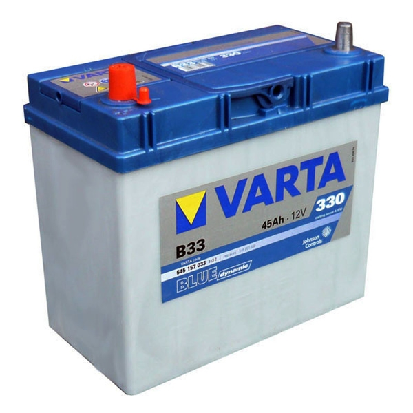 Autobaterie VARTA BLUE dynamic 45Ah 12V 330A