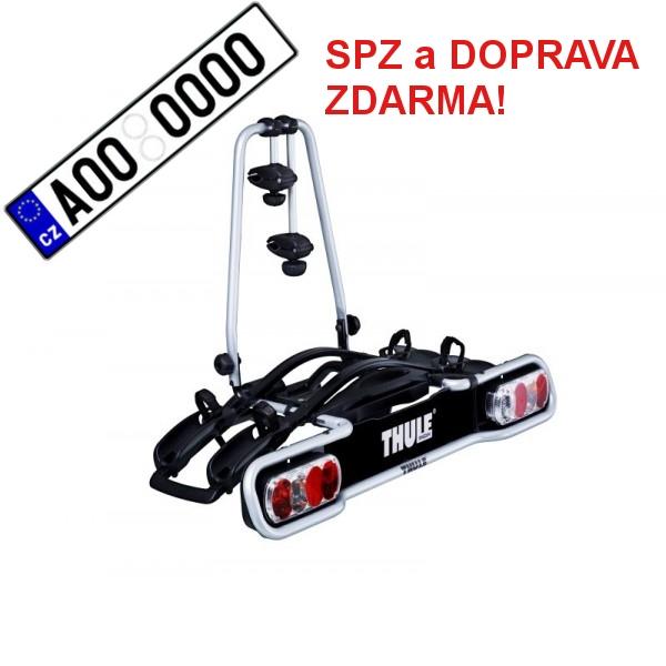Nosič kol Thule EuroRide 940 pro 2 kola SPZ a DOPRAVA ZDARMA
