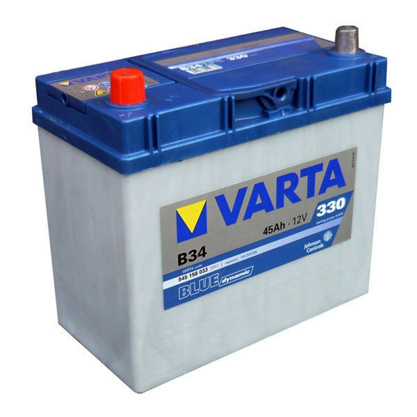 Autobaterie VARTA BLUE dynamic 45Ah 12V 330A 545158