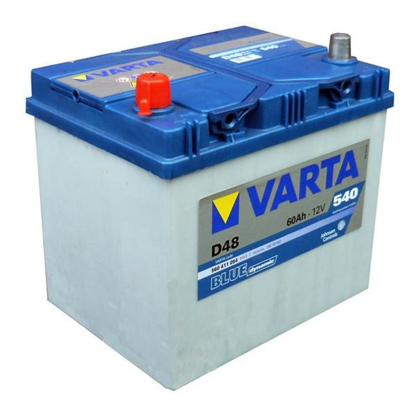 Autobaterie VARTA BLUE dynamic 60Ah 12V 540A
