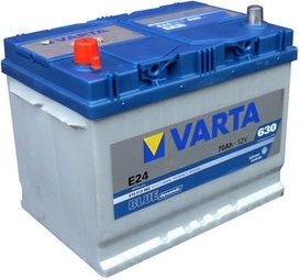 Autobaterie VARTA BLUE dynamic 70Ah 12V 630A