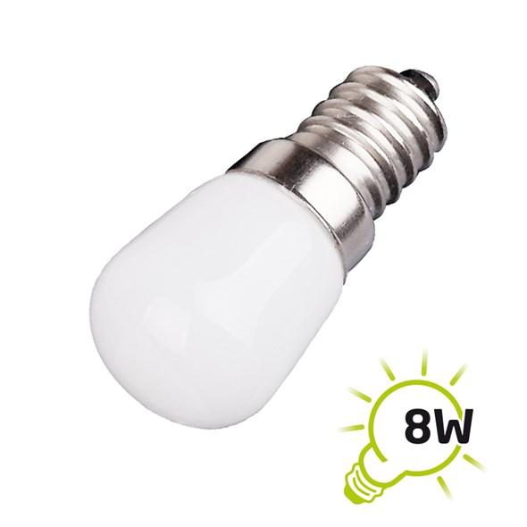 LED žárovka do lednice a digestoře E14 1.5W bílá studená