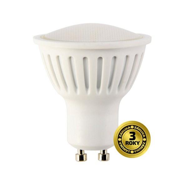 LED žárovka SPOT GU10 5W bílá teplá SOLIGHT