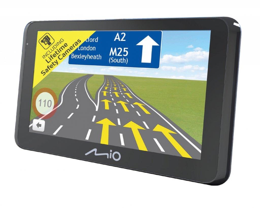 "MIO Spirit 8670 GPS TRUCK / KARAVAN navigace, LCD 6,2"", TMC, BT, mapy EU (44) LifeLifetime"