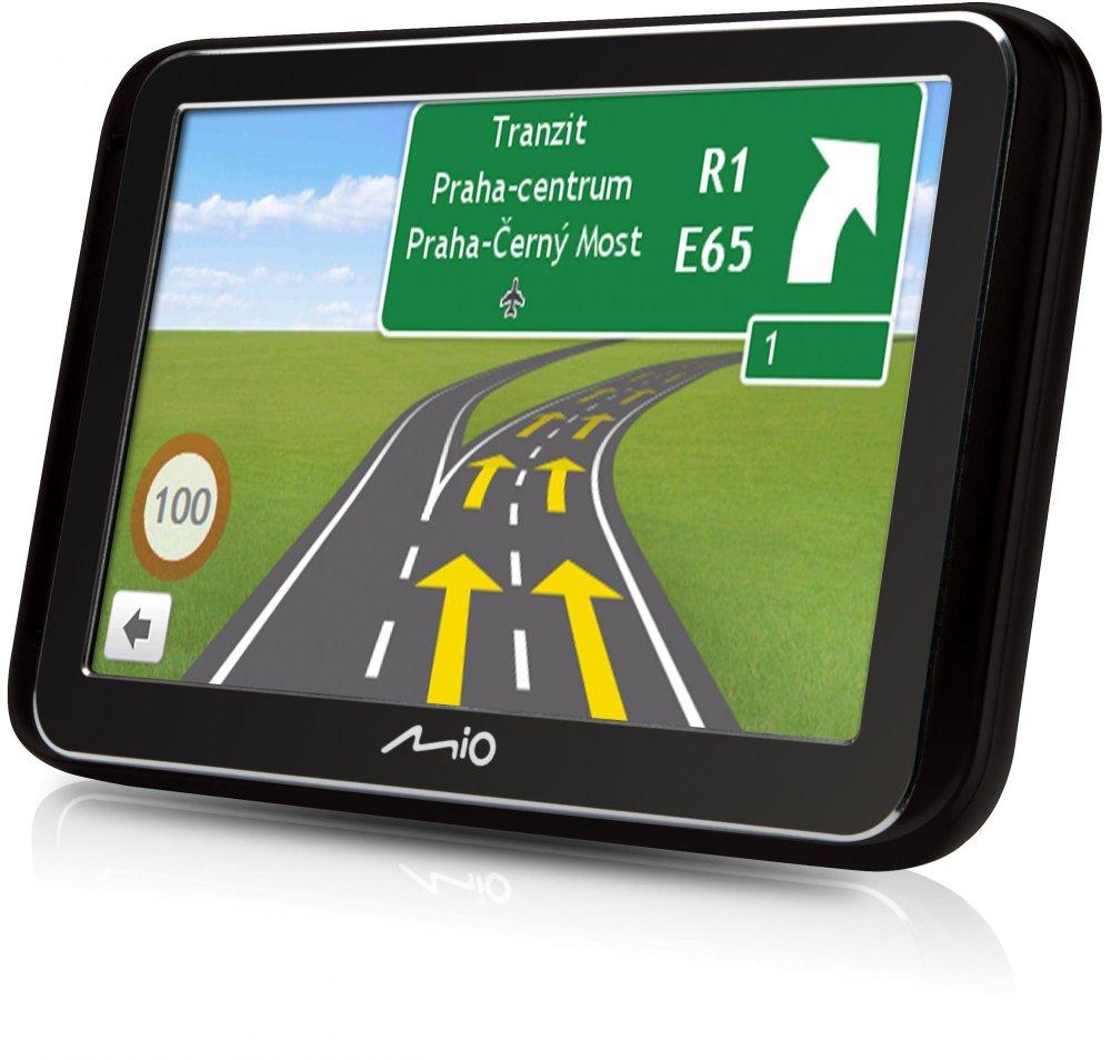 "MIO Spirit 6900u GPS navigace, LCD 5"", mapy EU (44) Lifetime"
