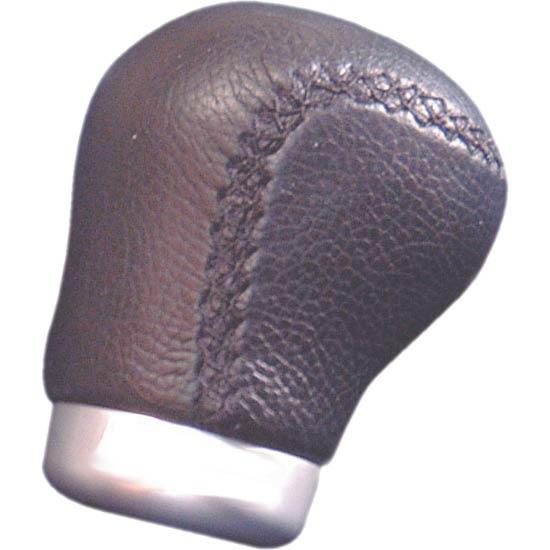 Hlavice řadící páky ergonomická - černá kůže