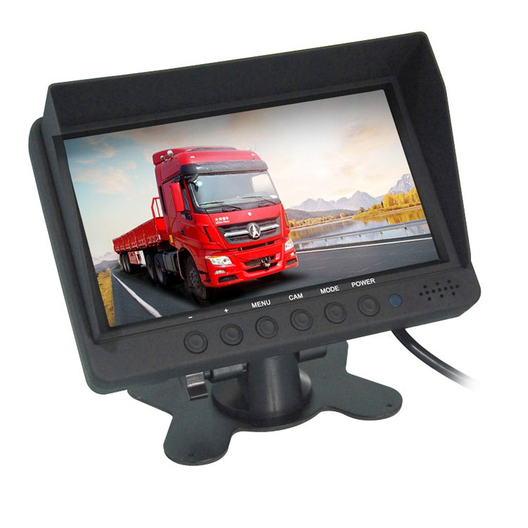 LCD monitor do auta 7 palcový - 12/24V