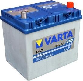 Autobaterie 60Ah Varta BLUE dynamic JAP