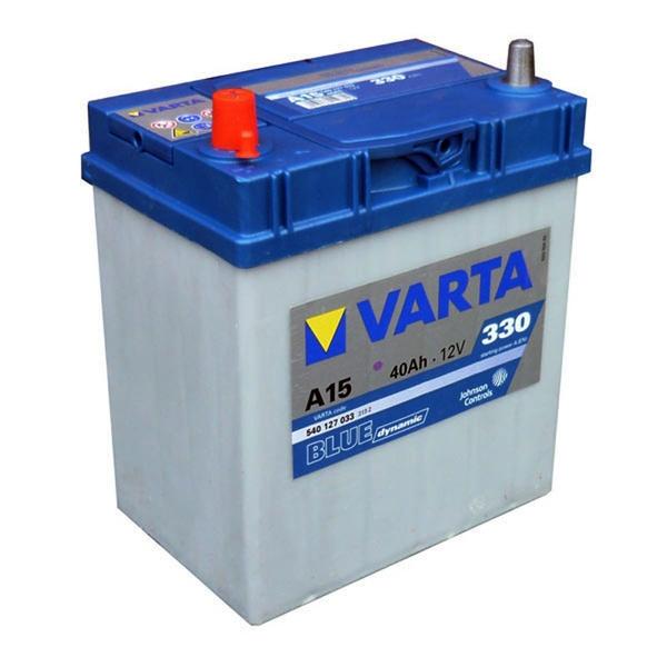 Autobaterie VARTA BLUE dynamic L+ 40Ah 12V 330A 540127