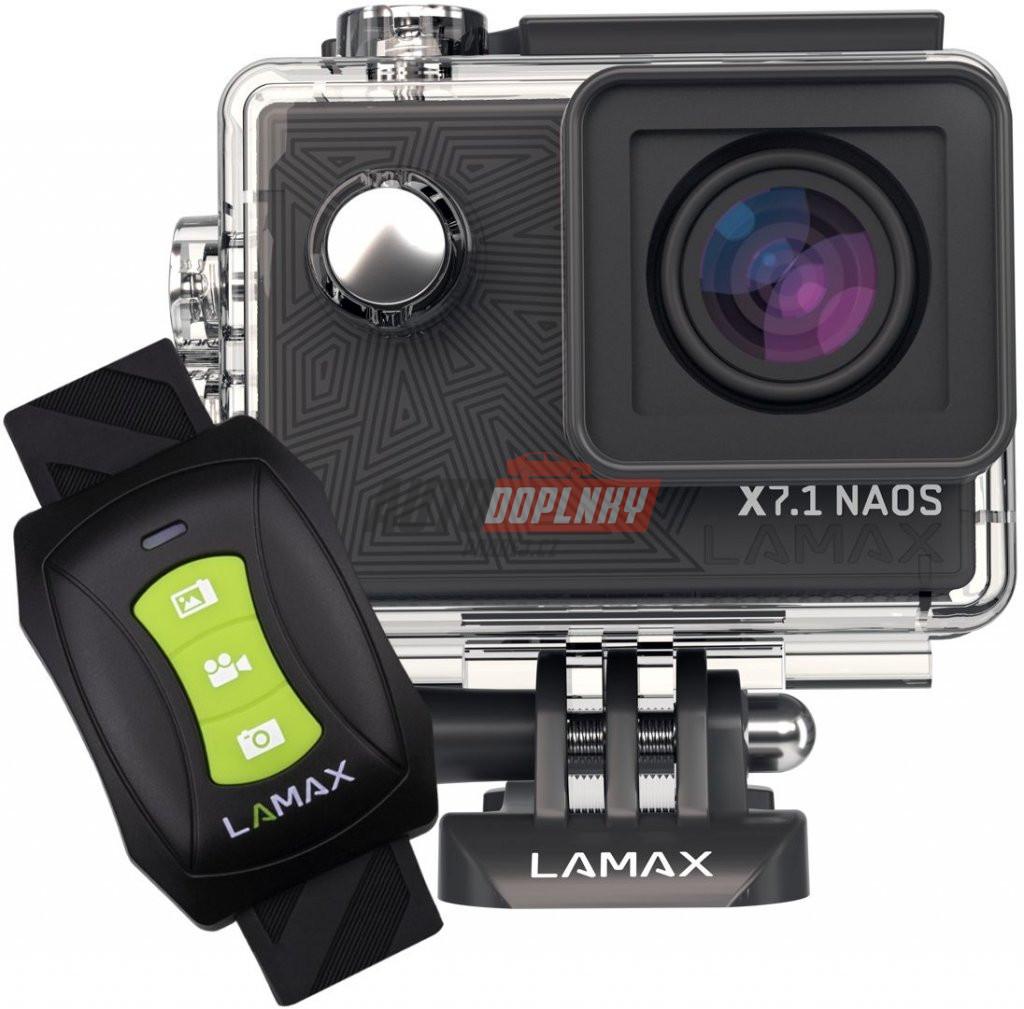 Sportovní kamera LAMAX X7.1 Naos + čelenka a plovák  b39d1e74b3