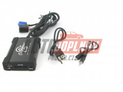 Adaptér pro ovládání USB zařízení OEM rádiem Audi/AUX vstup