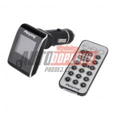FM modulátor ONE bezdrátový s USB/SD vstupem do CL s dálkovým ovladačem