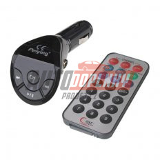 FM modulátor bezdrátový s USB vstupem do CL s dálkovým ovladačem