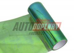 Transparentní fólie na světla - chameleon zelená