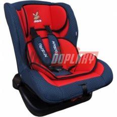Autosedačka 0-18KG červeno-modrá ANGUGU