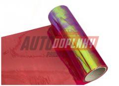 Transparentní fólie na světla - chameleon fialová