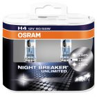 Autožárovky Osram H4 Night Breaker UNLIMITED +110% box - 2ks