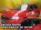 Ofuky oken - Škoda Rapid spaceback 5D r.v. 2013-> (+zadní)