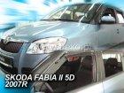 Ofuky oken - Škoda Fabie II 4D r.v. 2007-2014 (+zadní) htb