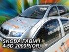 Ofuky oken - Škoda Fabie I 1999-2007 (+zadní)